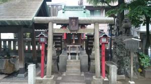 台東区下谷三島神社 火除稲荷社 (1)