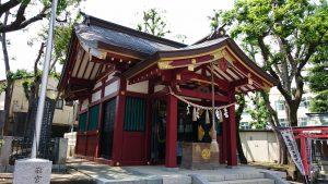 女塚神社 拝殿