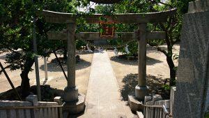 北野神社(南蒲田) 鳥居