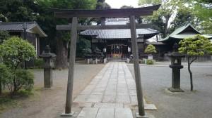平塚神社 二の鳥居