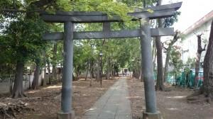 八雲氷川神社 二の鳥居