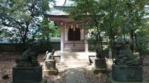 八雲氷川神社 奥ノ宮