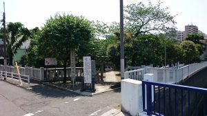 北野神社(南蒲田) 社頭