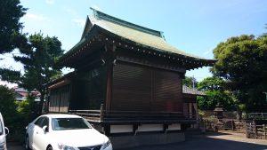 大森貴舩神社 神楽殿