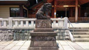 石濱神社 狛犬 吽