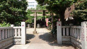 御園神社 鳥居
