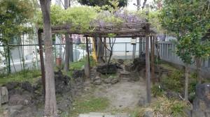 尾久八幡神社 神池跡