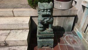 本社三島神社 狛犬 阿
