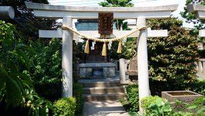 薭田神社 稲荷神社 鳥居