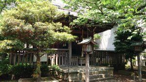 御園神社 拝殿