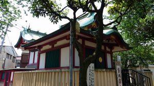 北野神社(南蒲田) 社殿