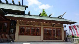 石濱神社 境内社合殿