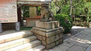 蒲田八幡神社 狛犬 阿