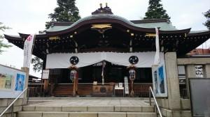 尾久八幡神社 社殿