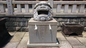 石濱神社 獅子頭