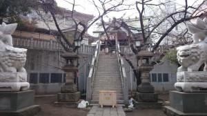 元三島神社 境内