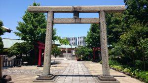 石濱神社 二の鳥居