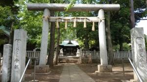 八雲氷川神社 三の鳥居