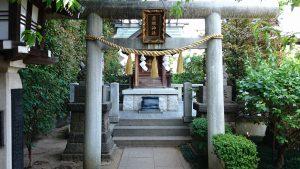 薭田神社 薬祖神社 鳥居