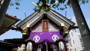 元三島神社 拝殿