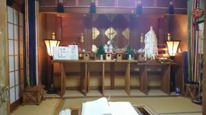 夫婦木神社 拝殿