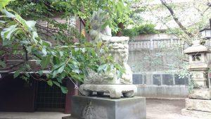 元三島神社 狛犬 吽