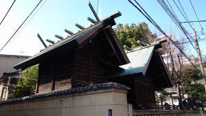 下谷三島神社 本殿