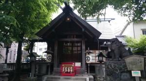 台東区下谷三島神社 社殿