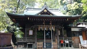 八雲氷川神社 社殿