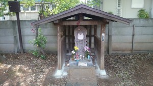 八雲氷川神社 地蔵