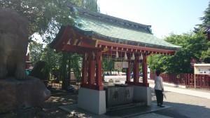 浅草神社 手水舎