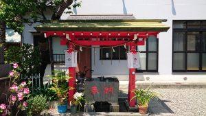 女塚神社 手水舎