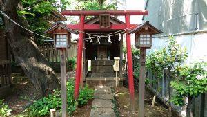 御園神社 榮龍神社 鳥居