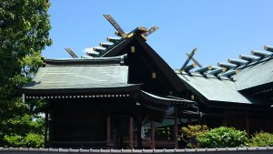 石濱神社 本殿覆屋