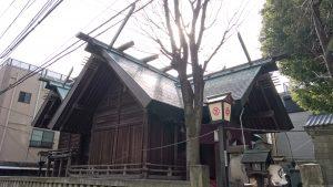 下谷三島神社 社殿全景