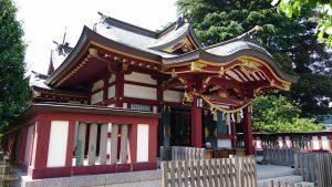薭田神社 拝殿