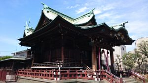 大森貴舩神社 社殿