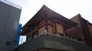 本社三島神社 社殿後方
