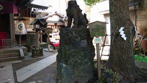 台東区下谷三島神社 狛犬 (2)