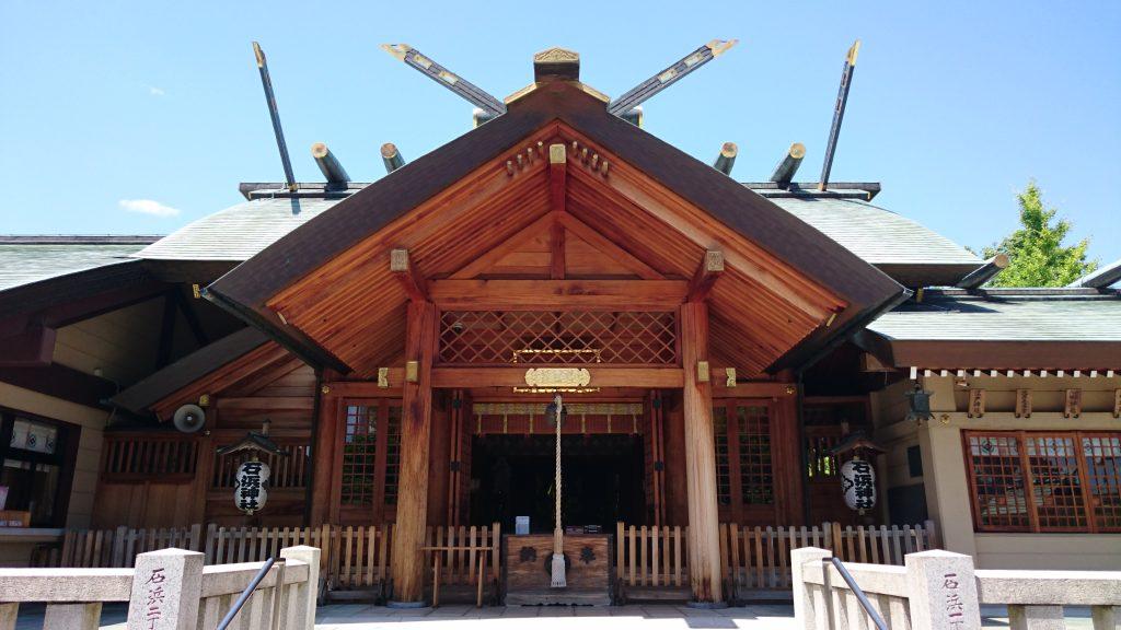 石濱神社(石浜神社)