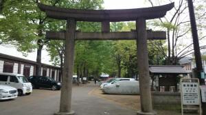 平塚神社 一の鳥居