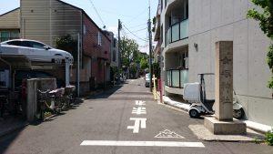 女塚神社 社号標