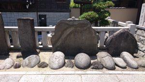 石濱神社 力石・石碑