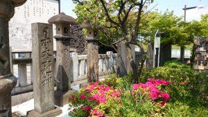 石濱神社 石碑群