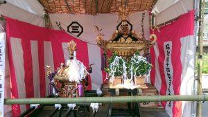 元三島神社 神輿