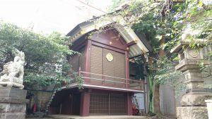 元三島神社 神楽殿