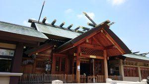 石濱神社 拝殿