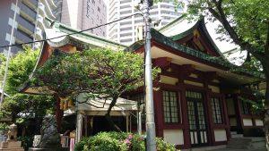 蒲田八幡神社 拝殿