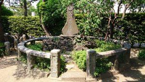薭田神社 山野神社合祀碑