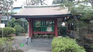 蒲田八幡神社 手水舎